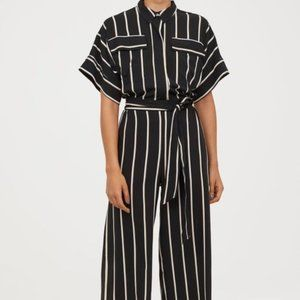 *NWT* Striped jumpsuit